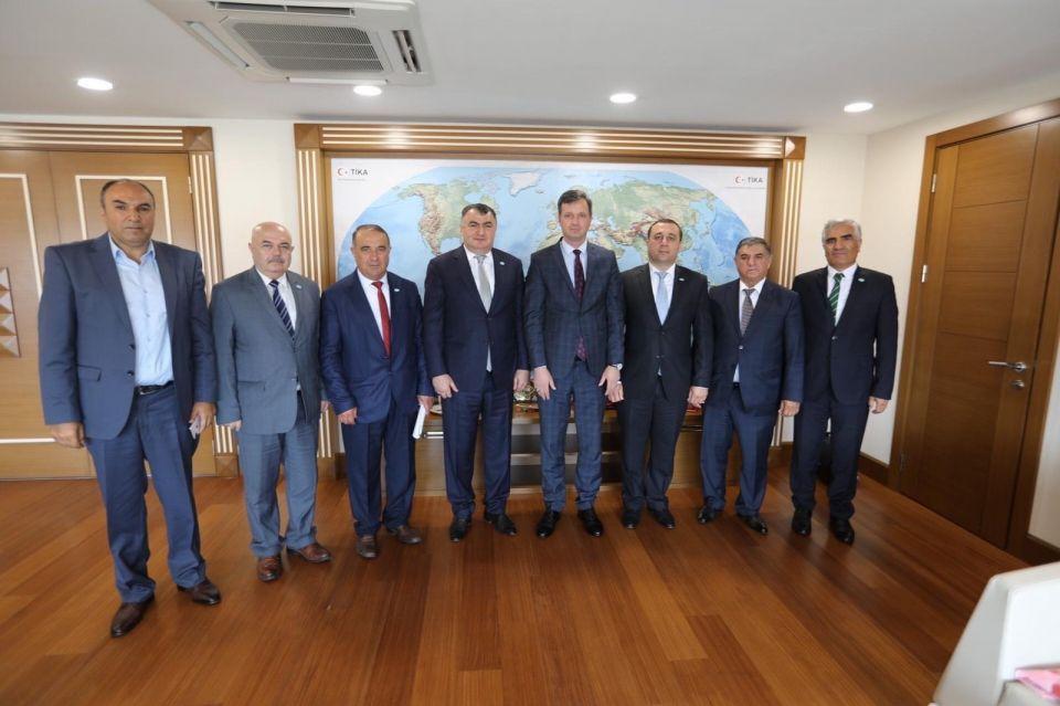 Datübden Ankarada Bir Dizi Ziyaretler