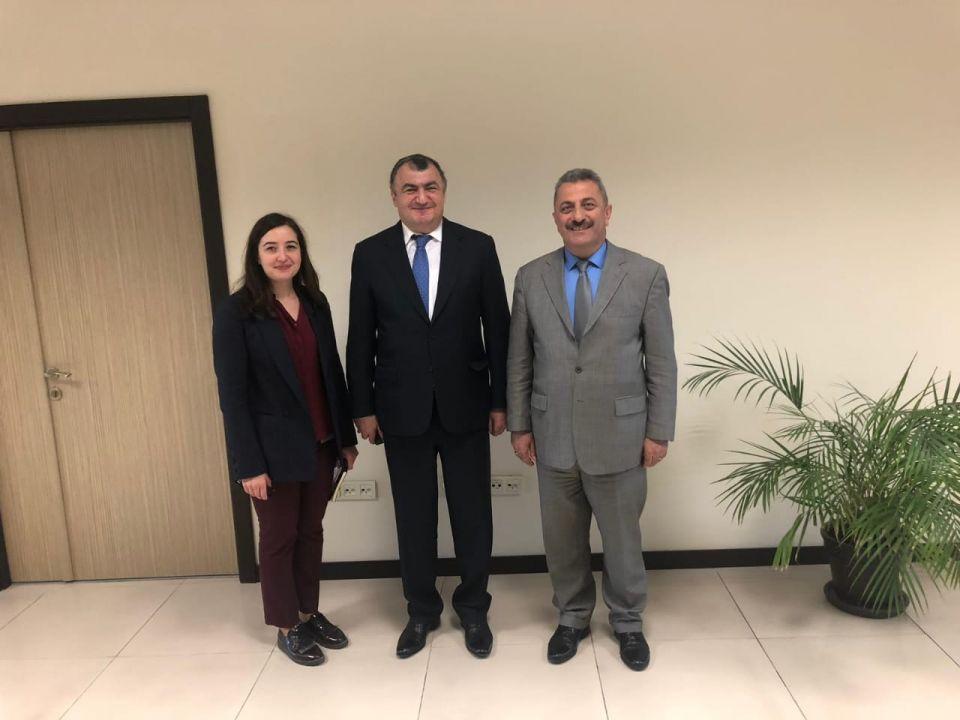 DATÜB Başkanı Ankara'da Yurtdışı Türkler ve Akraba Topluluklar Başkanlığında Görüşmelerde Bulundu